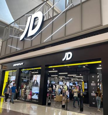 JD Sports tem uma nova localização