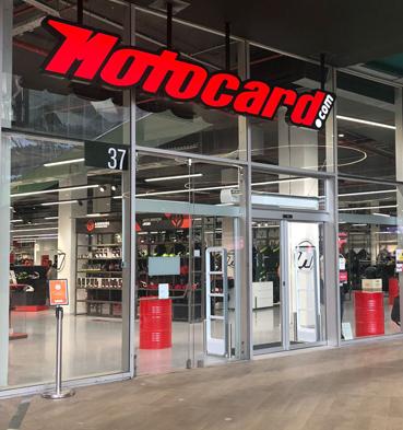 Abriu a nova loja Motocard